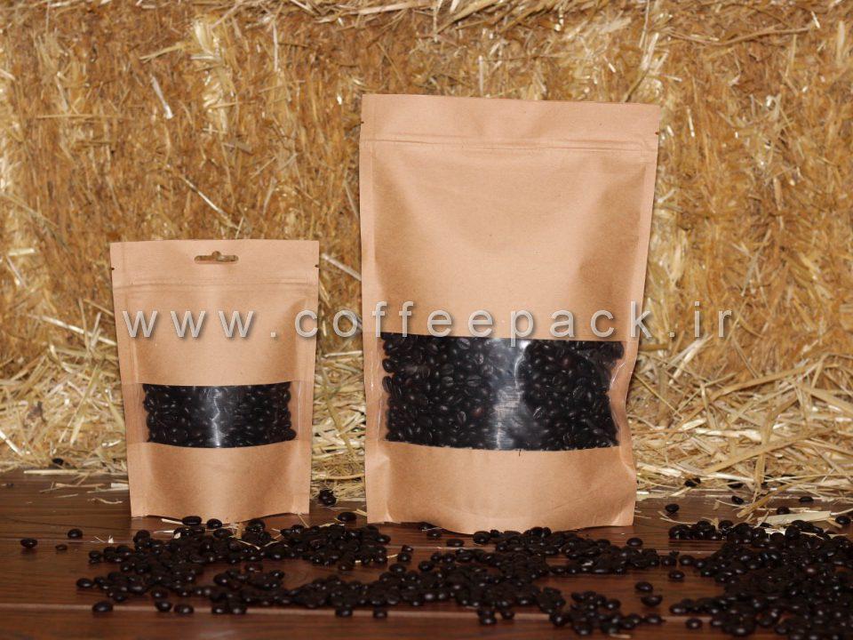 بسته قهوه سوپاپ دار